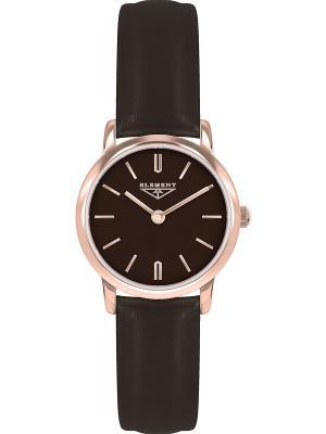 Часы 33 ELEMENT. Цвет: темно-коричневый, золотистый, розовый