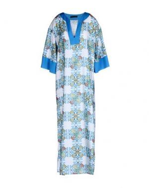 Длинное платье TENAX. Цвет: белый