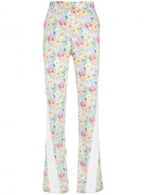 Floral straight trousers Gloria Coelho. Цвет: многоцветный