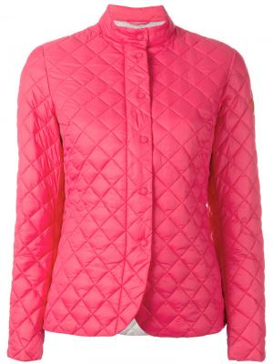 Стегана куртка Giga Save The Duck. Цвет: розовый и фиолетовый