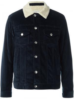Вельветовая куртка Éditions M.R. Цвет: синий