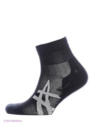 Носки (2 пары в упаковке) 2PPK CUSHIONING SOCK ASICS. Цвет: черный