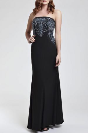 Платье Dynasty. Цвет: черный