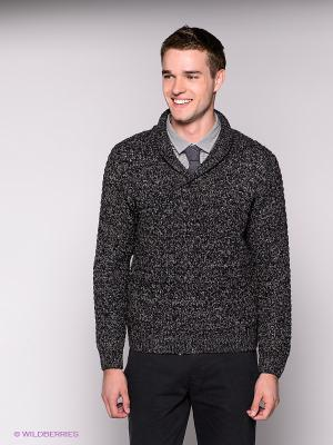 Пуловер Blue Seven. Цвет: черный, серый