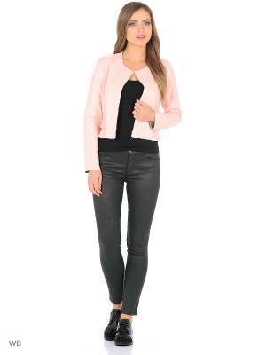 Куртка tuiggi Milano. Цвет: бледно-розовый