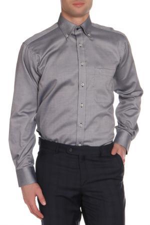 Рубашка ETERNA. Цвет: серый