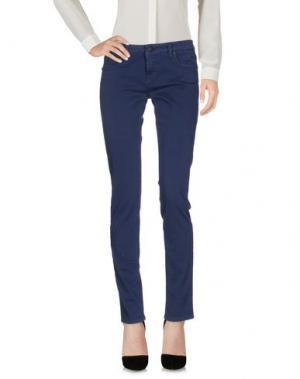 Повседневные брюки UP ★ JEANS. Цвет: темно-синий