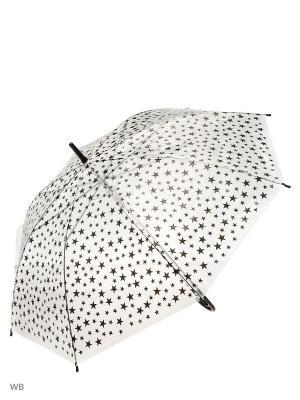 Зонт Modis. Цвет: прозрачный, черный