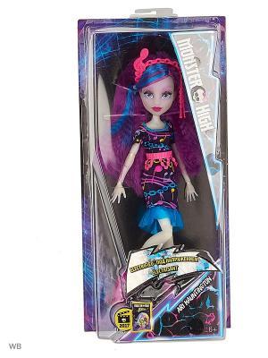 Неоновые монстряшки из серии Под напряжением в ассортименте Monster High. Цвет: фиолетовый