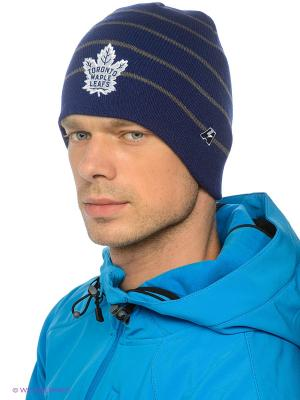 Шапка NHL Maple Leafs Atributika & Club. Цвет: синий