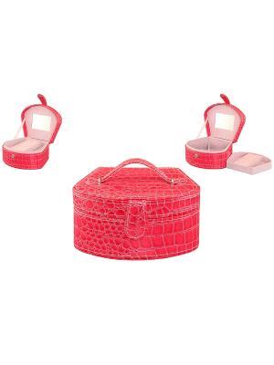Шкатулка Ярко-розовая ракушка Elan Gallery. Цвет: розовый