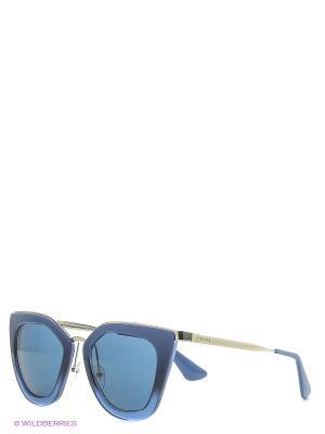 Солнцезащитные очки PRADA. Цвет: синий