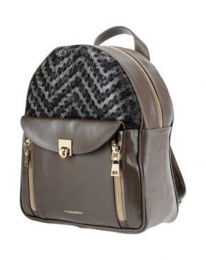Рюкзаки и сумки на пояс VIA REPUBBLICA. Цвет: свинцово-серый
