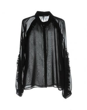 Pубашка ANNARITA N.. Цвет: черный