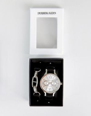 Dyrberg Kern Подарочный набор с часами и браслетом DyrbergKern. Цвет: черный