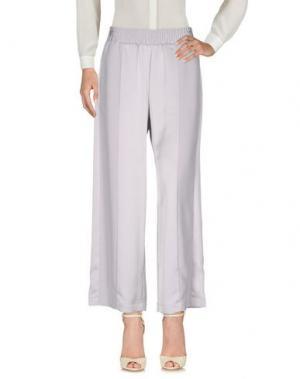Повседневные брюки CHLOTILDE. Цвет: светло-серый