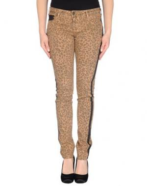 Джинсовые брюки CIMARRON. Цвет: верблюжий