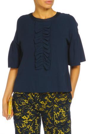 Блуза ZHOR&NEMA. Цвет: синий