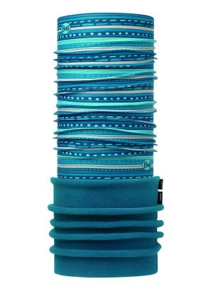 Бандана POLAR CHILD FRILL TURQUOISE / OCEAN Buff. Цвет: бирюзовый