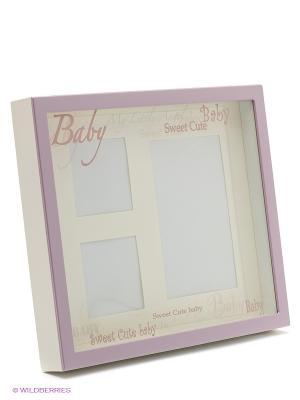 Фоторамка baby VELD-CO. Цвет: розовый