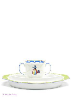 Детский набор Эльф Pavone. Цвет: синий, белый, зеленый
