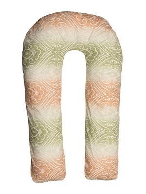 Подушка для беременных Здоровье и комфорт. Цвет: зеленый, коричневый