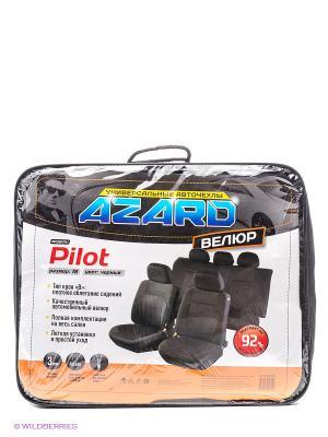 Чехлы универсальные Pilot AZARD. Цвет: черный