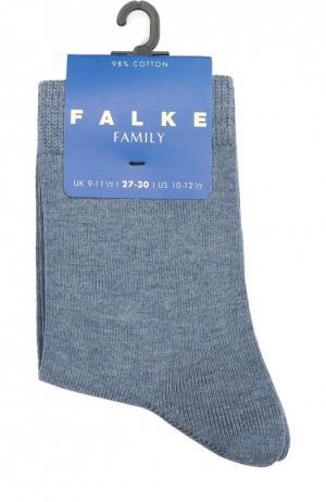 Носки из хлопка Falke. Цвет: голубой