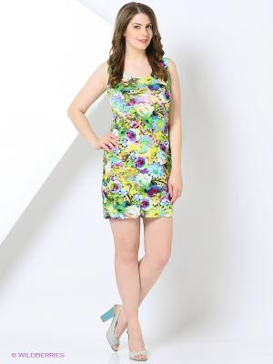 Платье Cariba. Цвет: зеленый