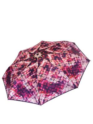 Зонт Fabretti. Цвет: бордовый, розовый