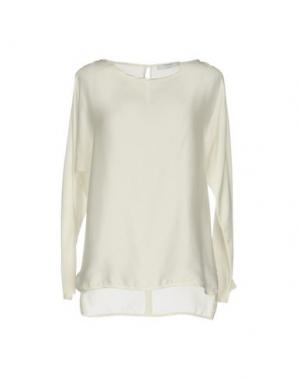 Блузка AGLINI. Цвет: белый