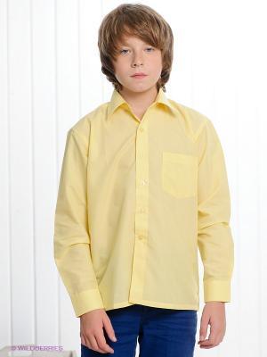 Рубашка I love to dream. Цвет: желтый