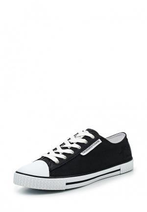 Кеды Trussardi Jeans. Цвет: черный
