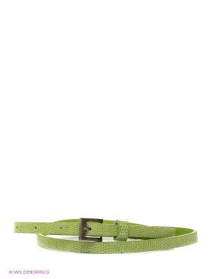 Ремень Oodji. Цвет: зеленый