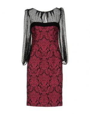 Платье до колена GIO' GUERRERI. Цвет: светло-фиолетовый