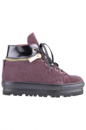 Ботинки Dino Bigioni. Цвет: сливовый