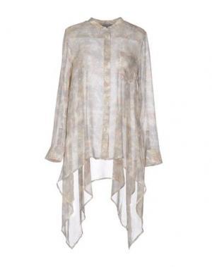 Pубашка MAIYET. Цвет: светло-серый
