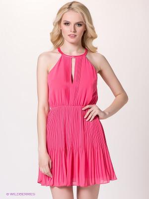 Платье bebe. Цвет: розовый
