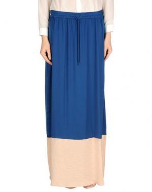 Длинная юбка INTROPIA. Цвет: пастельно-синий