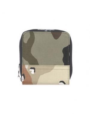 Бумажник MM6 MAISON MARGIELA. Цвет: песочный