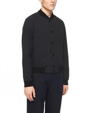 Хлопковая куртка YMC. Цвет: черный