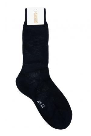 Носки из хлопка 158741 Zilli. Цвет: синий
