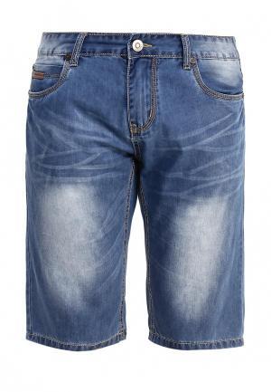 Шорты джинсовые Nord Star. Цвет: синий