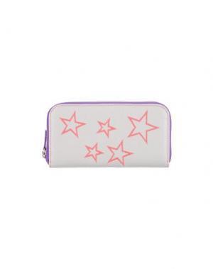 Бумажник NUR DONATELLA LUCCHI. Цвет: светло-серый