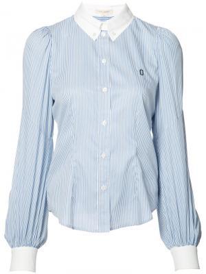 Классическая рубашка в полоску Marc Jacobs. Цвет: синий