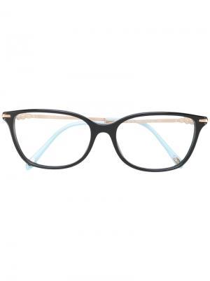 Квадратные очки Tiffany & Co.. Цвет: чёрный