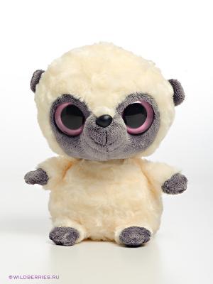 Мягкая игрушка Лемур Юху AURORA. Цвет: бежевый