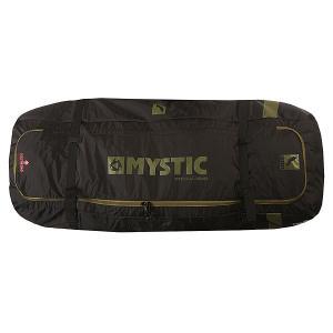 Чехол для вейкборда  Elevate Boardbag 1.40m Black Mystic. Цвет: черный,зеленый
