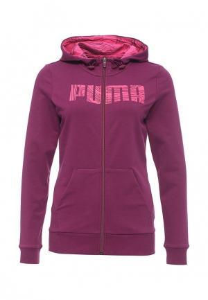 Толстовка Puma. Цвет: фиолетовый