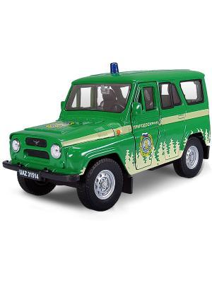 Машина UAZ 31514 лесоохрана AUTOTIME. Цвет: зеленый